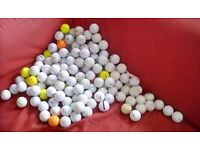 150 or so used but goid condition golf balls