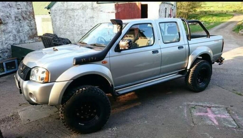 lifted nissan navara 2004 d22 double cab pick up in. Black Bedroom Furniture Sets. Home Design Ideas
