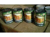 Cuprinol ducksback fence paint 5Ltr cans