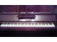 UPRIGHT WEBER PIANO