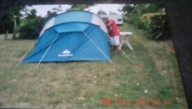 Decathlon 4 Berth Tent, used once, as new