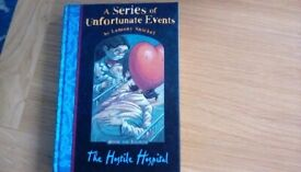 A Series of Unfortunate Events Childrens hardback book by Lemony Snicketook by Lemony Snicket