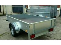 Trailers for sale new & used in stock ready for work. Tommy Towbar 07716 426700
