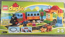 Lego duplicating train 105070 plus additional tracks