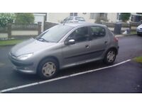 Peugeot 206 1.6 GLX 5 door Petrol Manual 110bhp 6CD autochanger