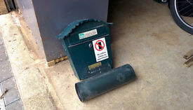 Letter box and post box newspaper attachment