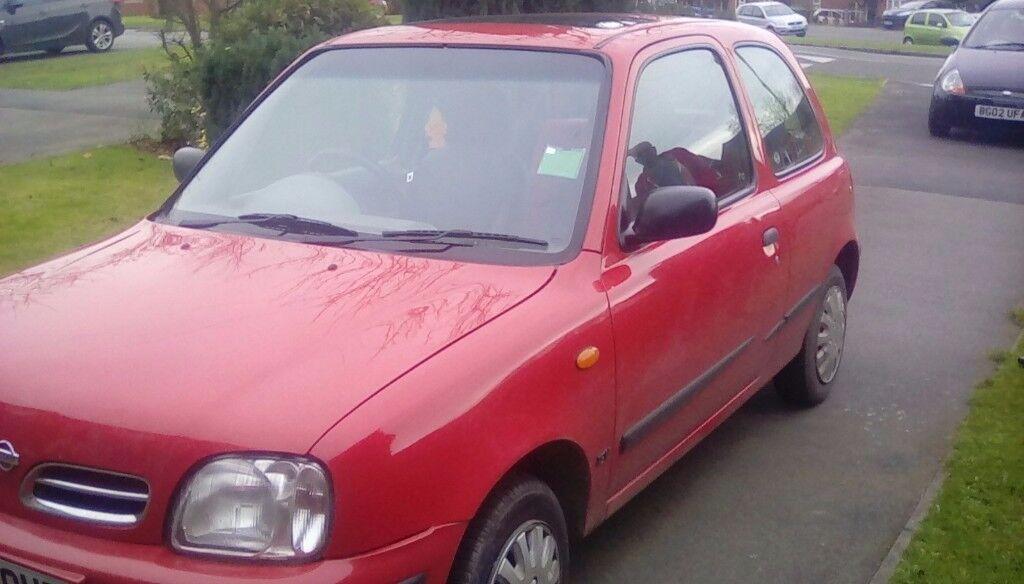 Nissan micra 998 cc ally ltd edition hatch back