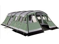 Outwell Vermont XL 7 Berth Tent in Very Good Condition its internal carpet