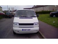 VW t4 transporter 24D Day Van Camper......low miliage....S Reg .....late 98