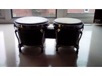 Set of bongos . These are old but still in great condition. I,m told they are worth about £80.