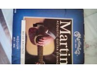 Accoustic guitar strings