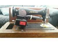 Jones, sewing machine, need foot padal