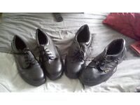 2x Steel cap work shoes Size 11