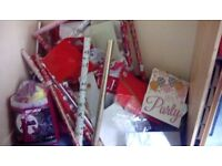 Gift Wrapping Paper and gift bags etc