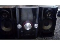 Panasonic SA - AKX12 speaker and sub woofer great condition works like new.