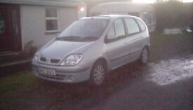 For Spares or Repairs. Renault Scenic 2.0 petrol (autogas converted)