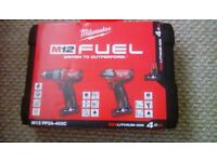 Milwaukee M12 Fuel kit