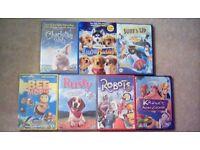 7 great family kids Disney DVDs £2 each