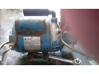 Compair air compressor no receiver