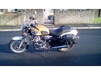 Triumph Adventurer classic 885 cc gold exe condition For sale very low milage