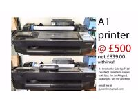 A1 HP T120 Printer for Sale