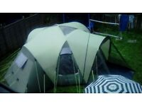 Outwell Hartford XL 8 Man Tent With Lots Of Extras