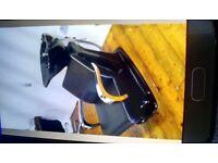 2 backwash basins/chairs, 4 chairs, 2 trollies, chlymazone, coat & display stand!