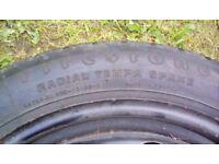 Vauxhall vectra spair wheel