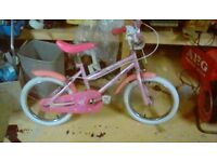 Childs bike 16 inch wheels ... lovely condition