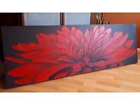 TROPICAL FLOWER CANVAS / ARTWORK