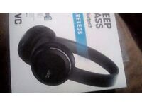 JVC wireless bluetooth headphones bnib