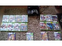 Xbox 360 ,games,plus connect, Surrey