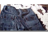 Mens Branded Jeans- Damaged size 34/32Reg