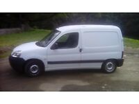 Peugeot Partner Van Spares or Repair