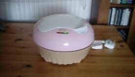 Swan cup cake maker