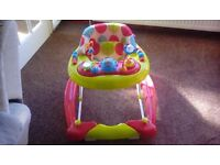 Redkite Baby Walker. Excellent condition. From smoke and pet free home.