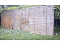 Fence panels 6x6. 4 panels.