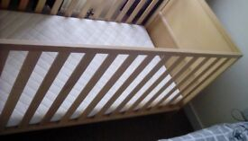 Cot or bed hardly used in goodcondition
