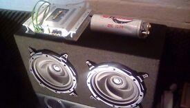 Subwoofer/amp/power capasitor/stereo