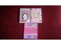 3 different Jacqueline Wilson books and a Cathy Cassidy book