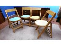 Ben Stoe vintage folding chairs