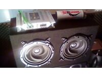 Subwoofer/amp/power capasitor/sony stereo