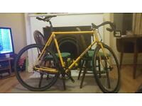 Woodrups Singlr Speed Bike, large frame. Reynolds 531 Steel. 250 ONO