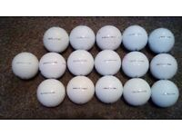 Ten Titelist pro v 1 and pro v 1x.golf balls.