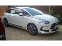 Citroen DS5 Sport 2.0 HDI 180 Blue Auto 6 speed 2015 Pearlescent White FSH £30 RT 50 mpg Excellent