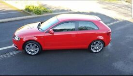 Audi a3 S Line MPi, half leather, brilliant condition in and out! 4 new tyres , sline mats!.