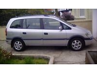 Vauxhall zafira dti elegance 7 seater cheap moted
