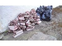 FREE RUBBLE, FOR FILL.IN, DRAINAGE, CRAZY PAVING ,ETC