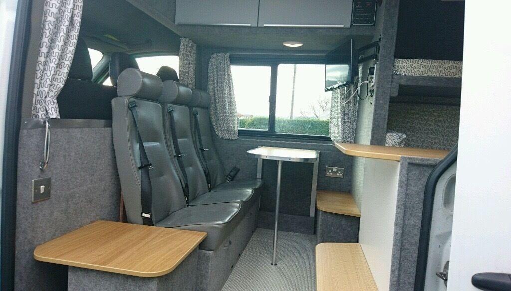 Mercedes Sprinter MWB Motorhome Campervan 6 Seat Belted Seats 4 5 Berth