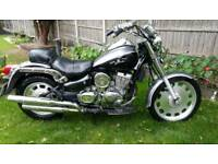 125cc Daelim Daystar Chopper. Runs needs work. No mot. Can deliver if needed. See notes